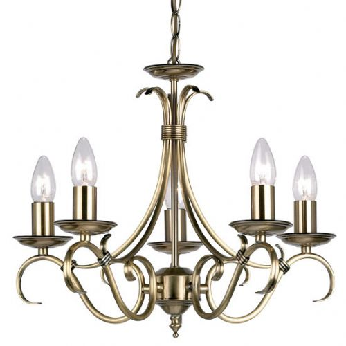 Antique 5-Light Fitting 2030-5AN